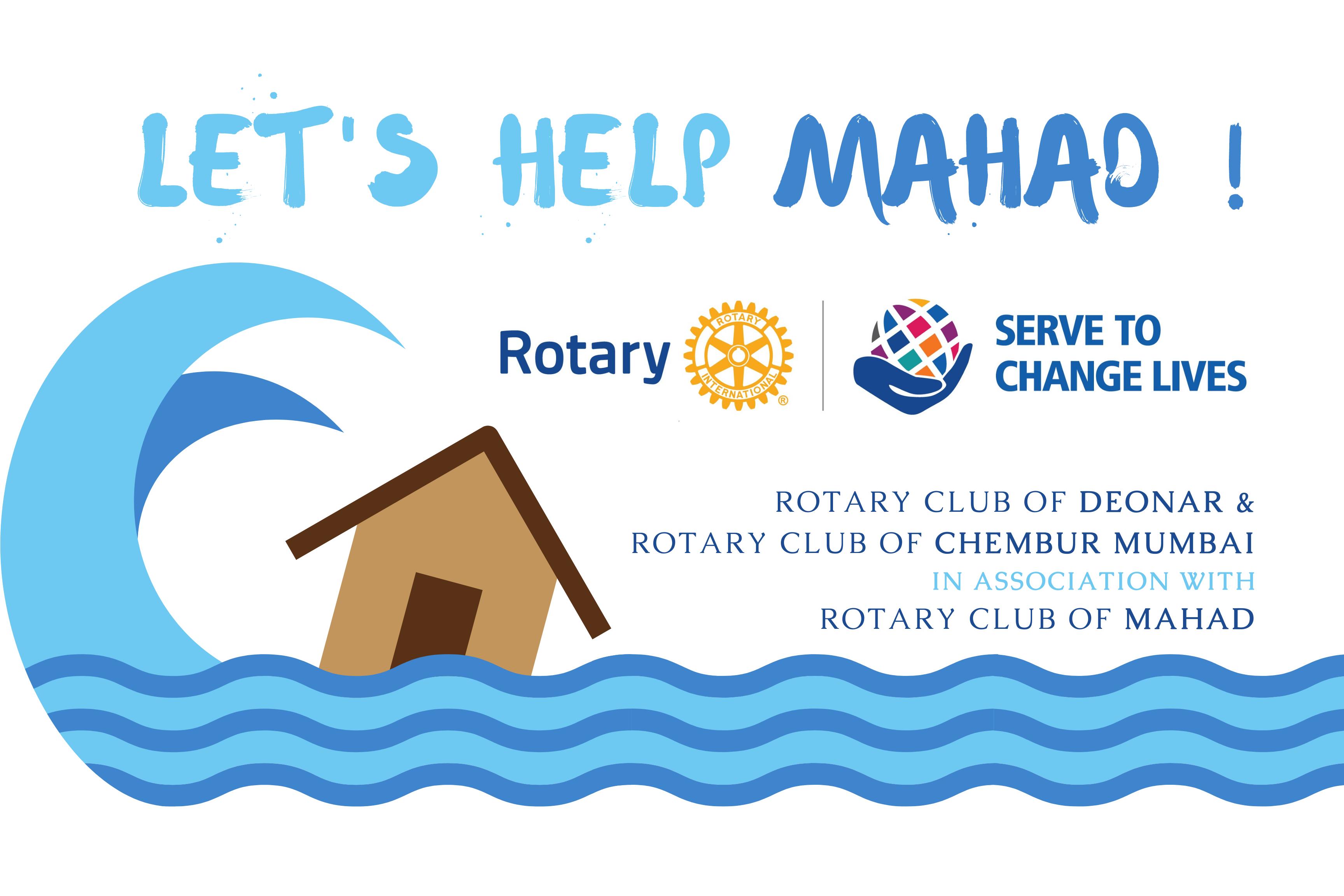 Lend a Hand, Let's Help Mahad !