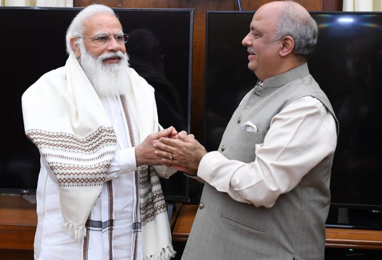 Narendra Modi and Shekhar Mehta